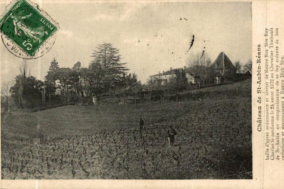 Histoire du Château de Saint-Aubin