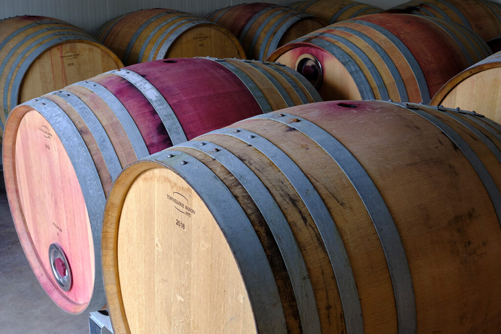 ouillage vin rouge