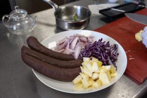 cuisine cosmopolite moyen orient et Europe