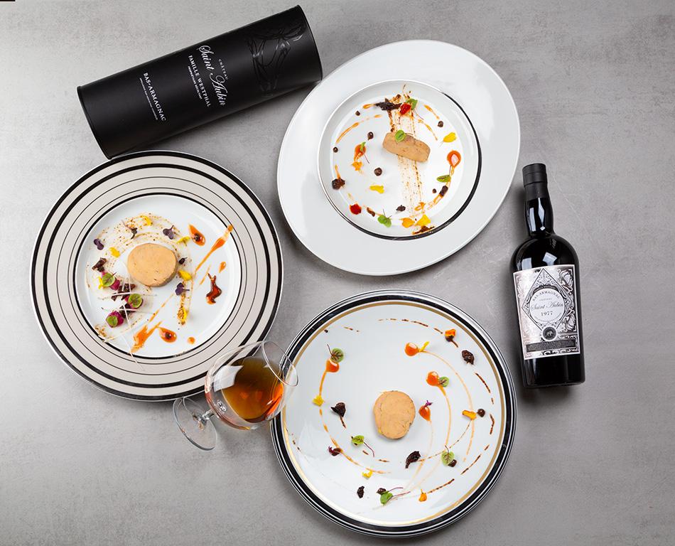 foie gras et armagnac millésimé