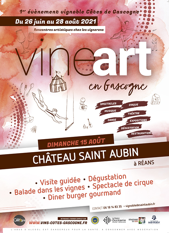 VINEart à Saint-Aubin