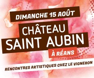affiche Vineart à Saint-Aubin